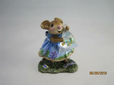 Wee Forest Folk Ltd Ed Prize Catch Event Special Fancy Fish Aqua New in WFF Box