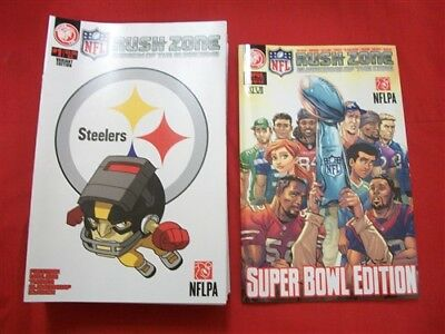 Nfl Rush Zone 32 Team Variant Comic Set Complete Eagles Steelers Xlvii Tpb Nm