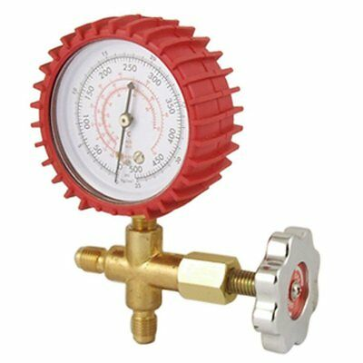 Air Conditioner Refrigeration Single Manifold Pressure Gauge Tool D3I6