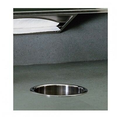 Bobrick B-529 Circular Waste Chute Satin/Polished Stainless Steel