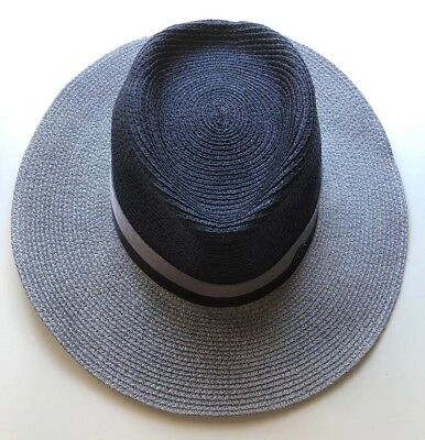 13668400a85 MAISON MICHEL PARIS Charles Panama Straw Hat Size Large  NEW ...