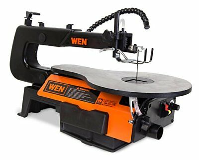 WEN 3920 16-Inch Two-Direction Variable Speed Scroll Saw with Flexible LED Ligh