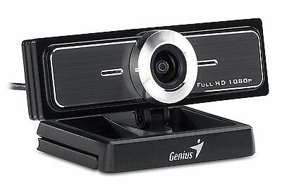 Genius 120-degree Ultra Wide Angle Webcam WideCam F100