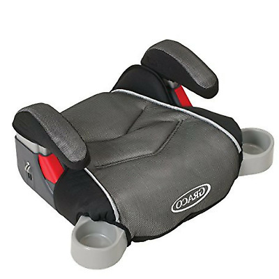 Booster Seat With Cup Holders Car Backless Child Safety Travel Padding Portable