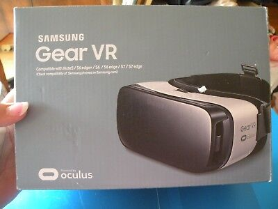 73e06a8b554 Samsung Gear VR Virtual Reality Headset Glasses for Galaxy Note 5 S6 S7  Edge Q1