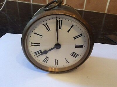French Drum Clock For Spares/ Repairs # 2