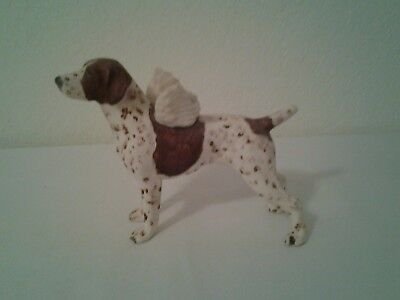 German Shorthaired Pointer Figurine Ornament with Wings