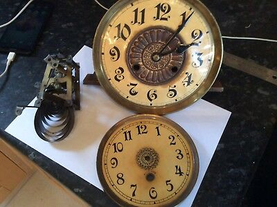 Clock Movements For Spares or Repairs
