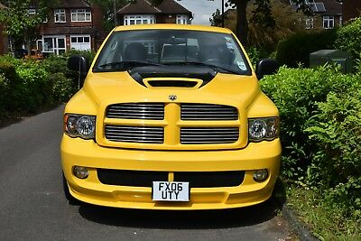 Dodge Ram SRT 10 Viper Yellow fever special edition