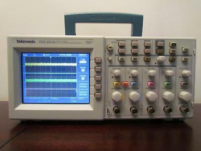 Tektronix TDS2014 100Mhz 4 Channel Color Digital Oscilloscope DSO TDS 2014