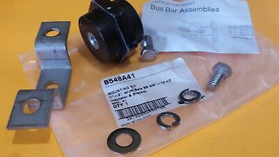 "Erico B548A41 Mounting Kit, 1-2"" Wide Bar SS 3/8- 6 HD  Insulator w/Bracket"