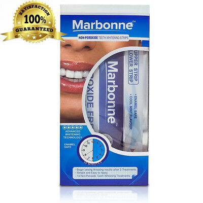 Professional Teeth Whitening Strips by Marbonne® - 28 with Advanced...