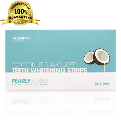 Teeth Whitening Strips by PearlyPoised™ - These Advanced, Enamel Safe,...