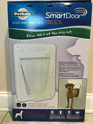 PetSafe Electronic Smart Pet Dog Door Model: PPA11-10709 with Same Day Shipping