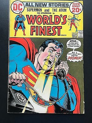 World's Finest #213 - DC Comics - Superman and the Atom