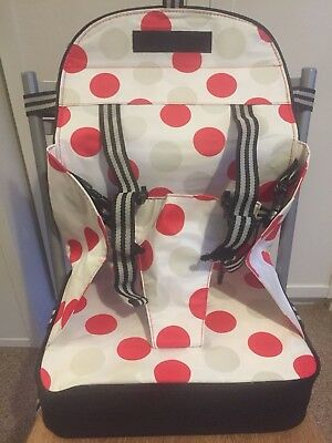 Polar Gear baby toddler 5 point harness travel booster seat