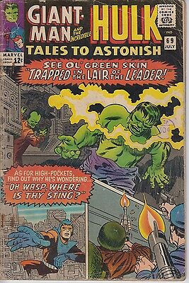 Tales to Astonish 69 - 1965 - Giant-Man & Hulk - Kirby - Very Good