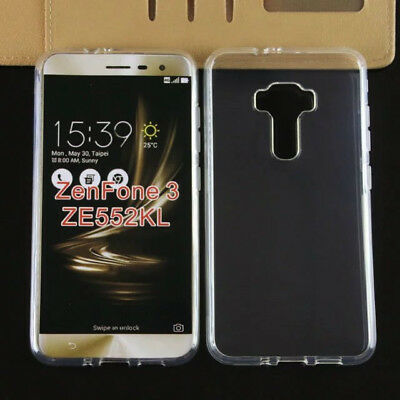 Asus Zenfone 3 ZE552KL Clear Shockproof Bumper Ultra Thin Soft TPU Case