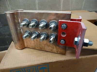 Lot#0709-16: Industrial Busbar For 2500 Amp Circuit Breaker, Heavy Duty Buss Bar