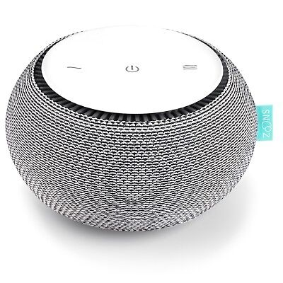 White Noise Sound Machine - Portable Real Fan Inside, iOS and Android App SNOOZ