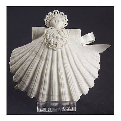 Margaret Furlong SUMMER LOVE ANGEL 2001 Porcelain Shell Ornament - MIB