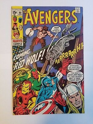 The Avengers #80 FN Condition