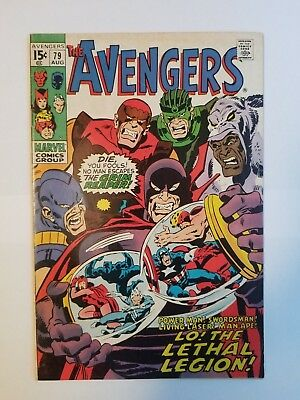 The Avengers #79 FN Condition