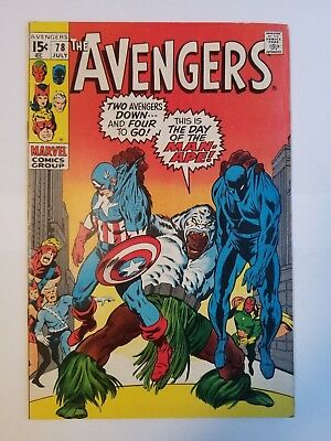 The Avengers #78 FN Condition