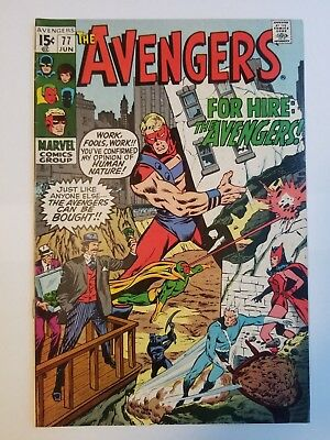 The Avengers #77 FN Condition