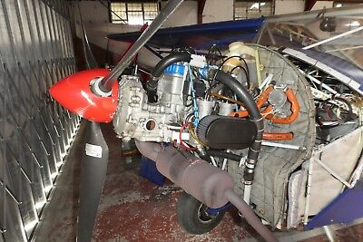 ROTAX 582-99 BLUETOP Engine With C Type Gearbox