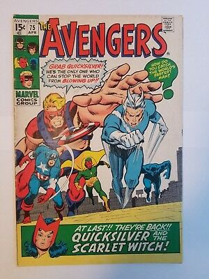 The Avengers #75 FN Condition