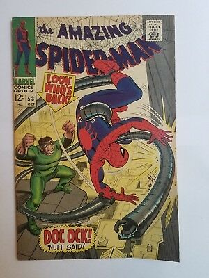 The Amazing Spider-Man #53 FN Condition