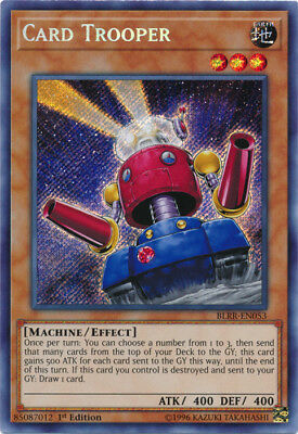 Yugioh! Card Trooper - BLRR-EN053 - Secret Rare - 1st Edition Near Mint, English