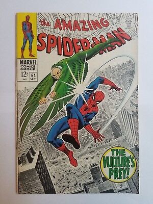 The Amazing Spider-Man #64 FN/VF Condition
