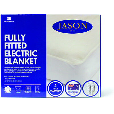 Jason Fully Fitted Washable Electric Blanket