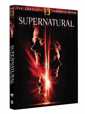 Brand new Supernatural Season 13 DVD BOX SET Fast and free  Delivery UK Seller