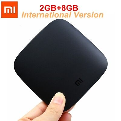 Original Xiaomi Mi 4K TV Box Android 64Bit Quad-Core 2+8GB International Version