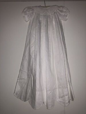 Besos By Kissy Kissy Caroline Scalloped Christening Gown Baptism Dress