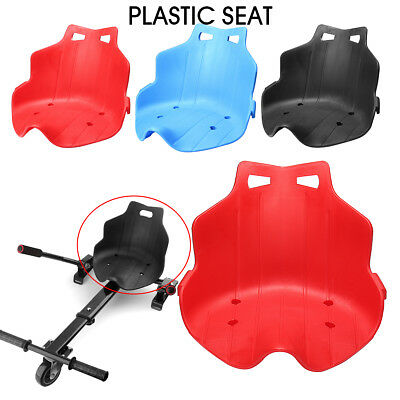 NEW Replacement Plastic Seat for Adjustable Hover Cart Kart Hoverboard 3 Colors