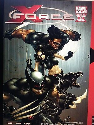 X-Force Comics: 39 issues and 1 Annual on DVD+R (NOT CARTOONS)