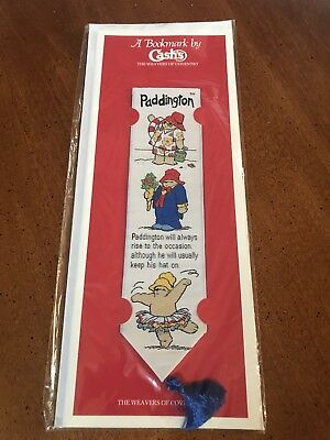 Bookmark By Cash's Paddington 1991-The Weavers of Coventry-