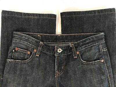 Polo Ralph Lauren Low Rise Zip Fly Boot Cut Denim Kelly Jeans - Women's 2x34