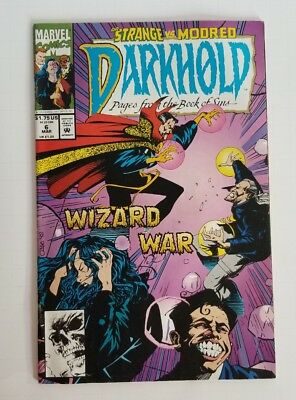 Darkhold Pages from the Book of Sins #6 1993 Newsstand Edition Dr. Strange