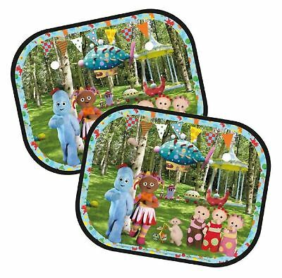 Childrens In the Night Garden Window Sun Shades: Set of Two