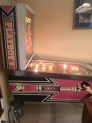 Bally 1978 Playboy Pinball Machine