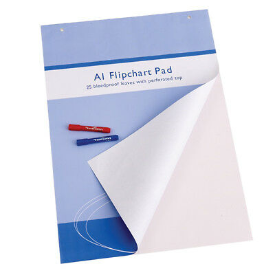 Standard Easel Pads, A1 Flipchart Paper Pad, 23 x 32 Inches, 25-Sheets/Pad
