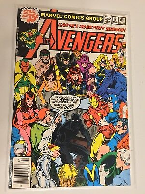 Avengers 181 Marvel 3/79 new line up, debut of Scott Lang who becomes Ant-Man