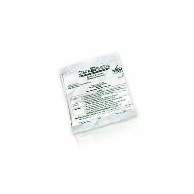 Box of 100 - 2 oz. Stera-Sheen Green Label Sanitizer Packets (Purdy ... - NO TAX