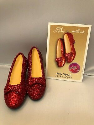 hallmark ornament wizard of oz 2005 ruby slippers club exclusive