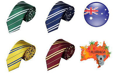 Harry Potter Tie Gryffindor Ravenclaw Hufflepuff Slytherin Tie Cosplay Costume